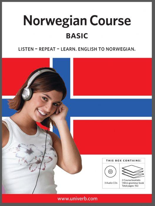 Ljudbok Norwegian Course. Basic av Ann-Charlotte Wennerholm