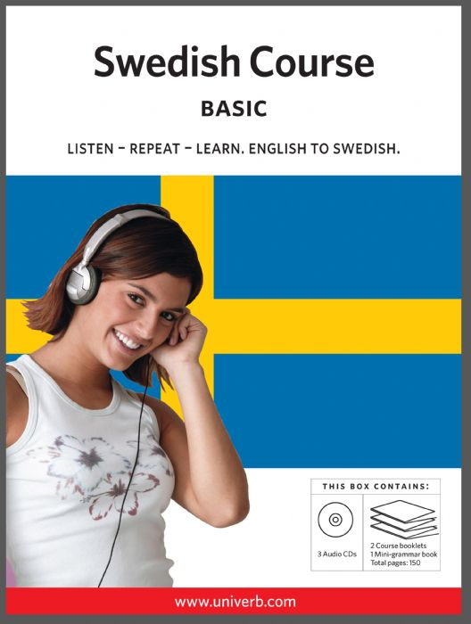 Ljudbok Swedish Course. Basic av Ann-Charlotte Wennerholm