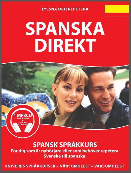 Ljudbok Spanska Direkt av Ann-Charlotte Wennerholm