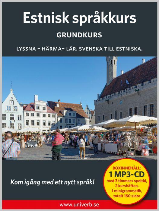 Ljudbok Estnisk språkkurs. Grundkurs av Ann-Charlotte Wennerholm