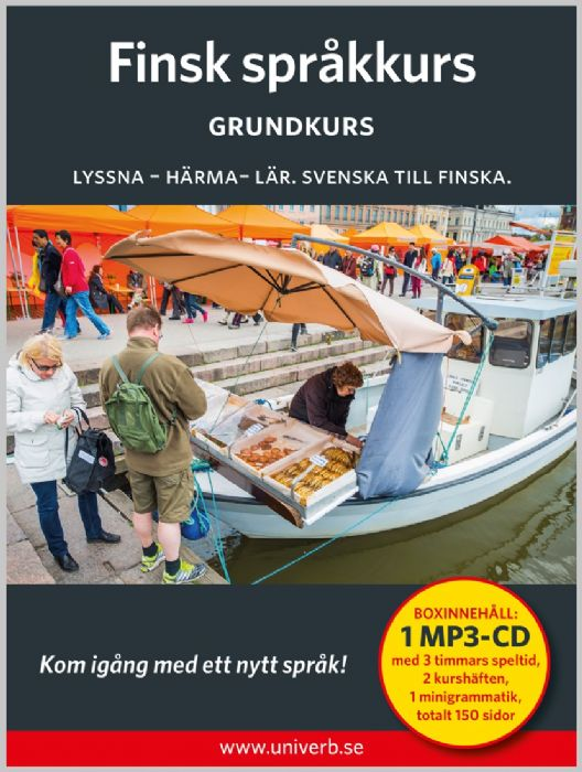 Ljudbok Finsk språkkurs. Grundkurs av Ann-Charlotte Wennerholm