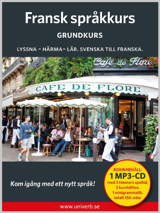 Ljudbok Fransk språkkurs. Grundkurs av Ann-Charlotte Wennerholm