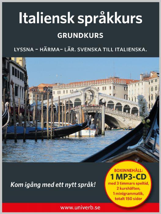 Ljudbok Italiensk språkkurs. Grundkurs av Ann-Charlotte Wennerholm