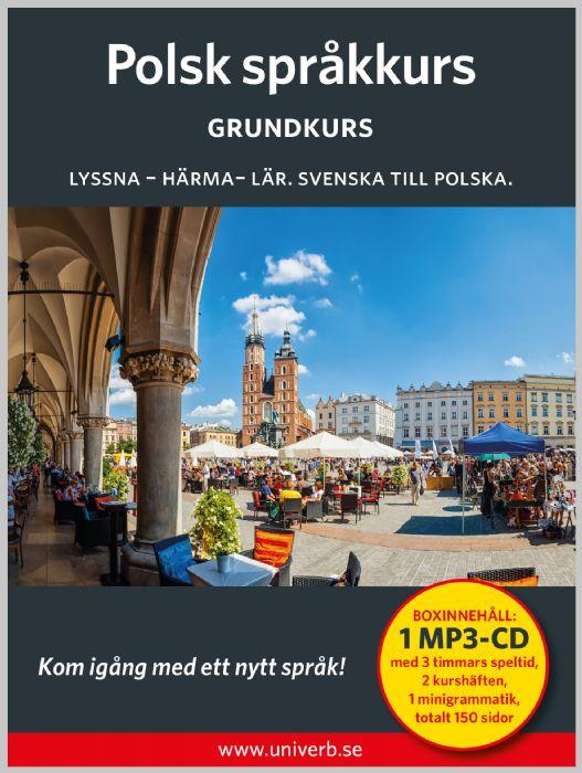 Ljudbok Polsk språkkurs. Grundkurs av Ann-Charlotte Wennerholm