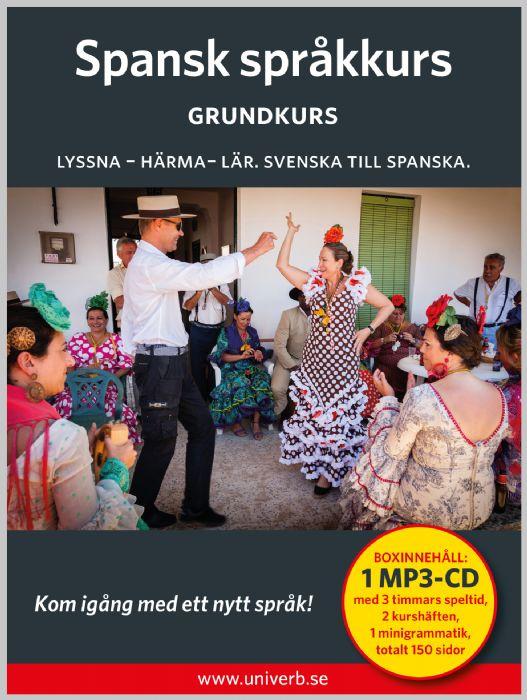 Ljudbok Spansk språkkurs. Grundkurs av Ann-Charlotte Wennerholm